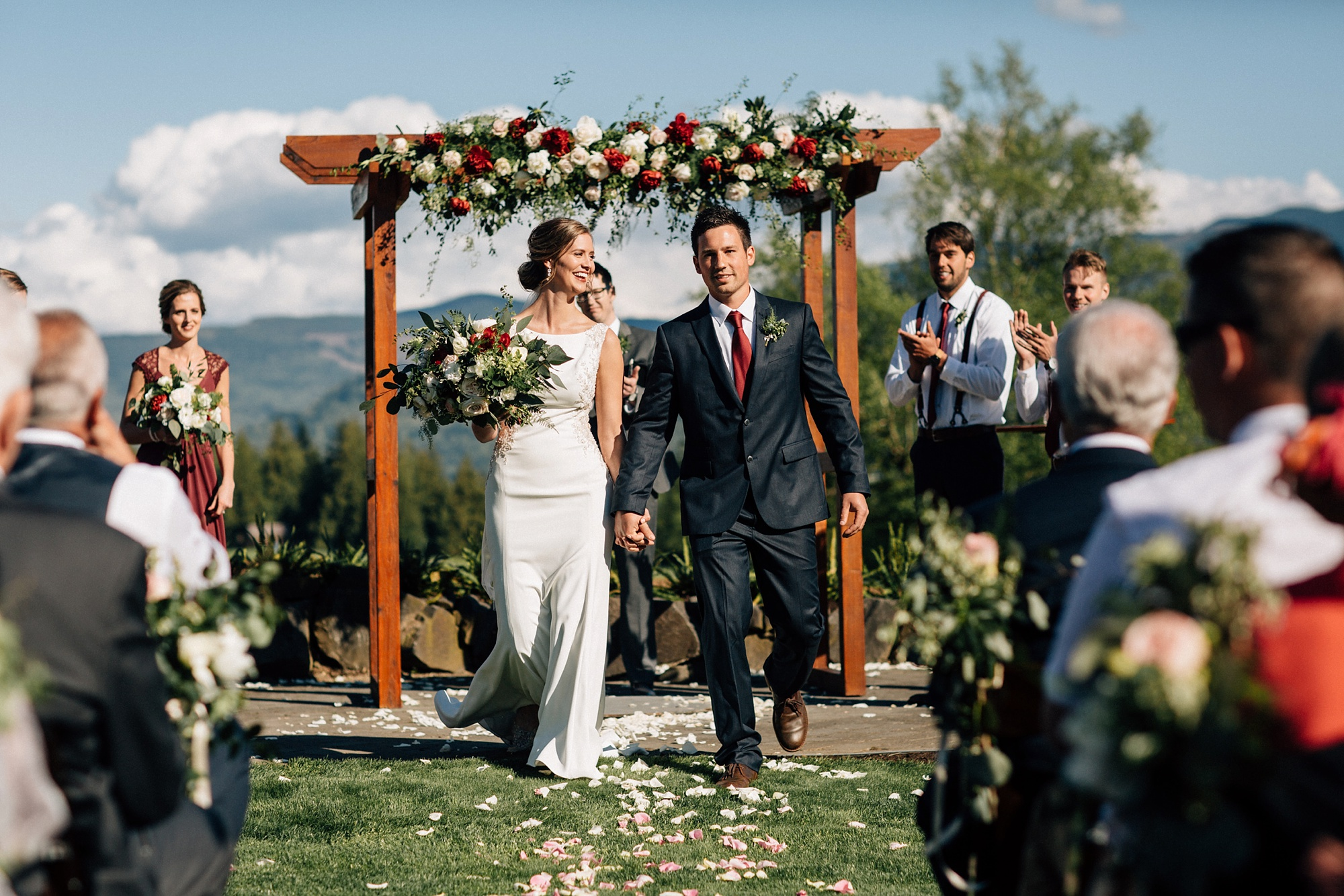 Whatcom County Backyard Wedding Photographer