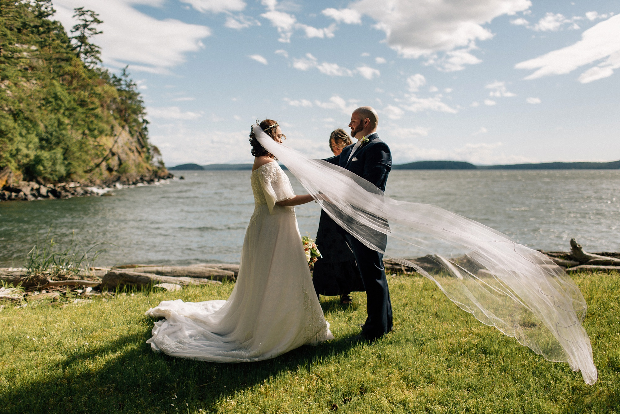 San Juan Islands Elopement