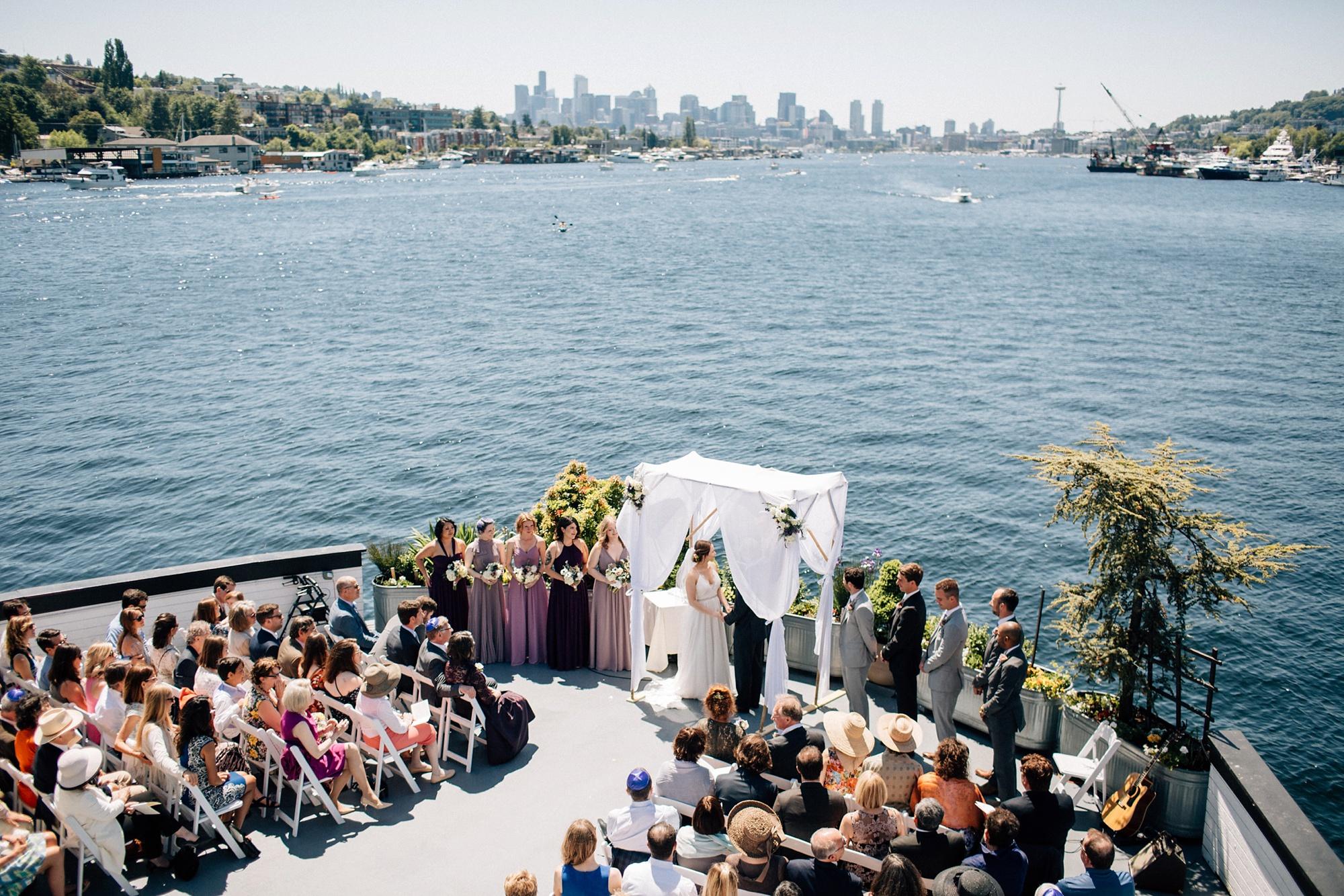 Skansonia Ferry Boat Wedding