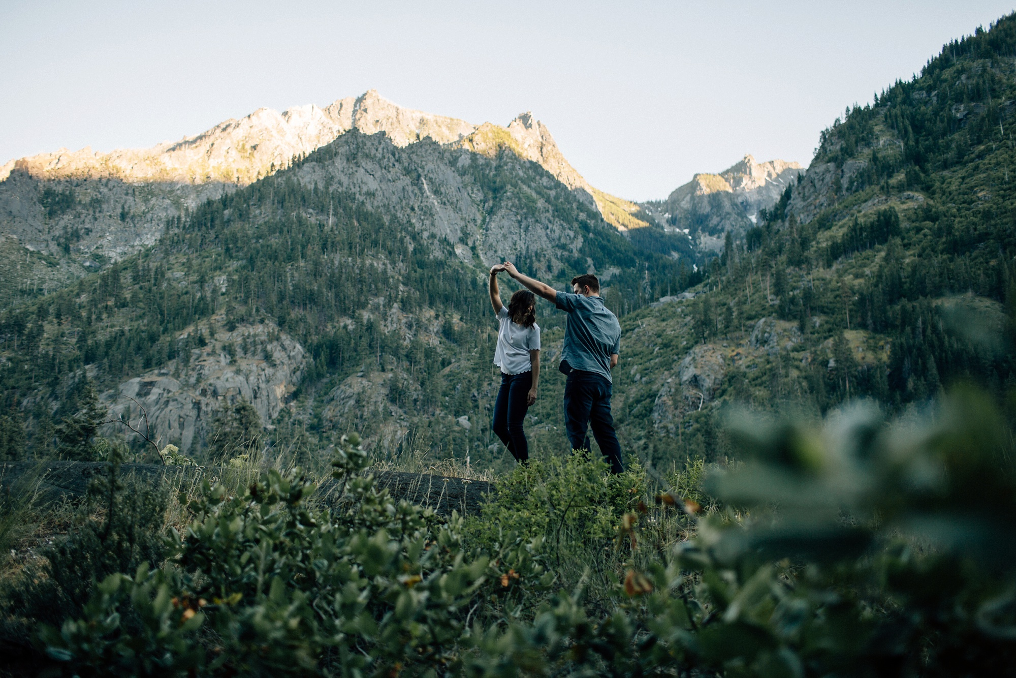 Leavenworth Engagement Session