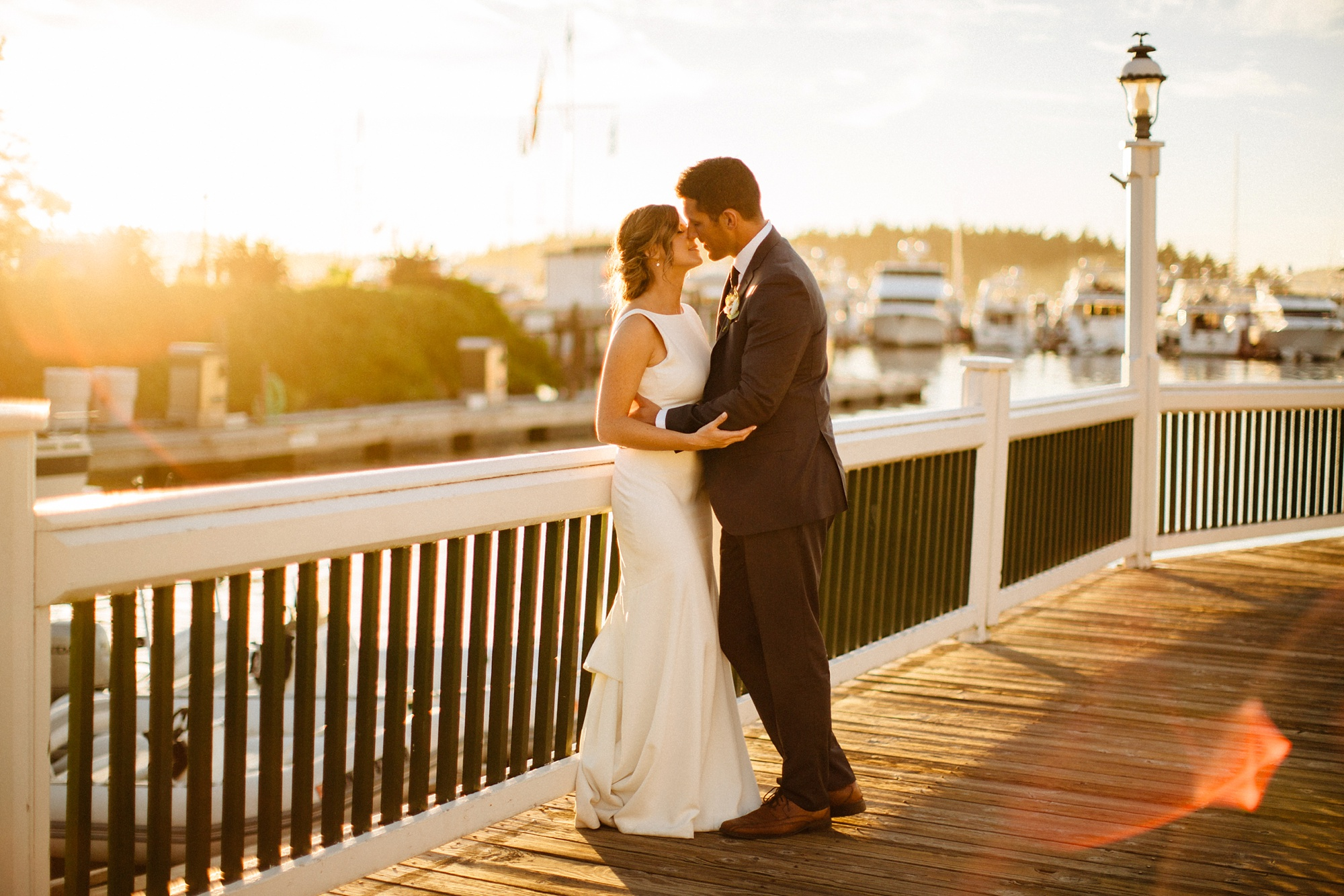 Stunning Roche Harbor Wedding