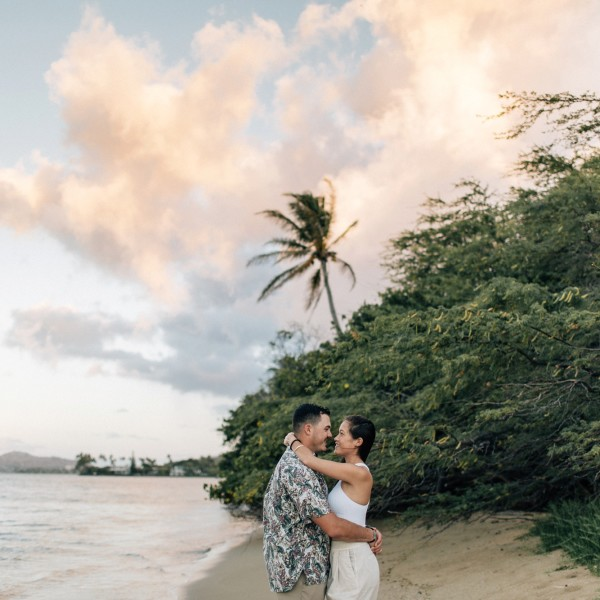 Matt & Anita | Sunrise Session | OAHU