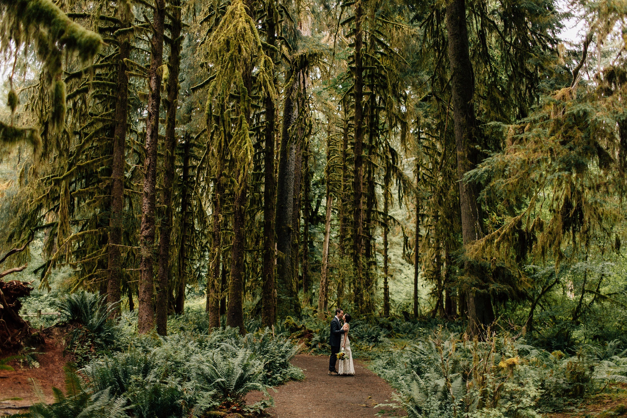 Hoh Rainforest Elopement