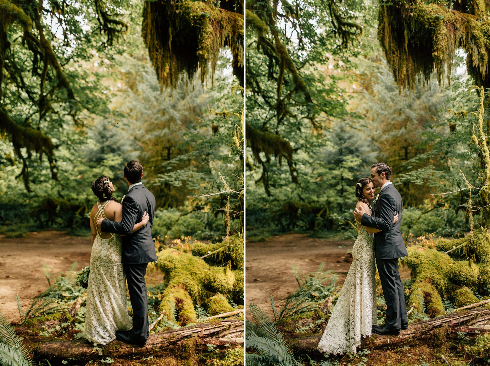 Hoh Rainforest wedding