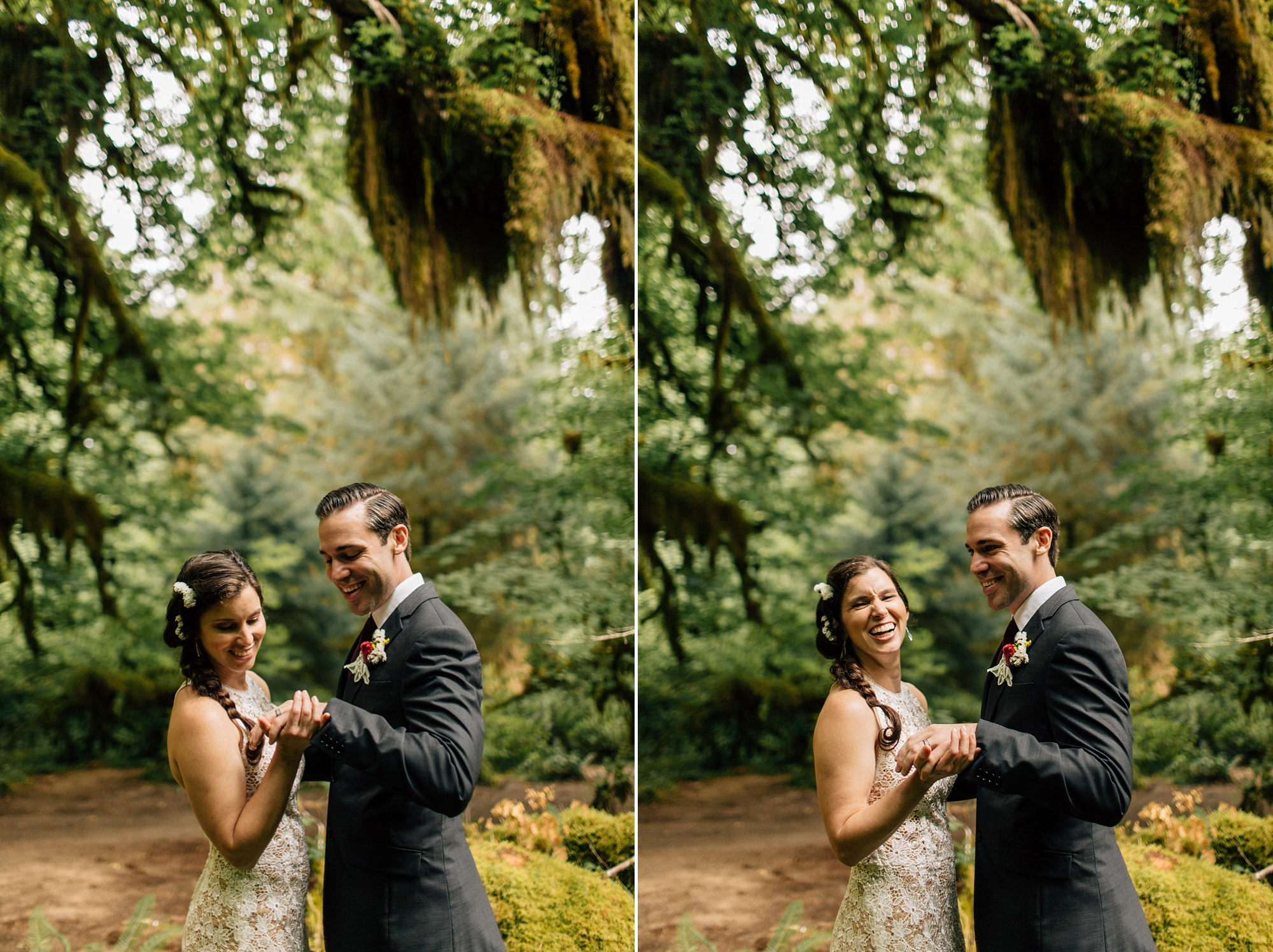 olympic peninsula elopement
